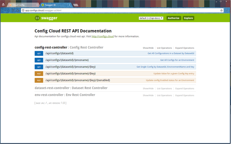 ConfigsCloud Screenshot 2