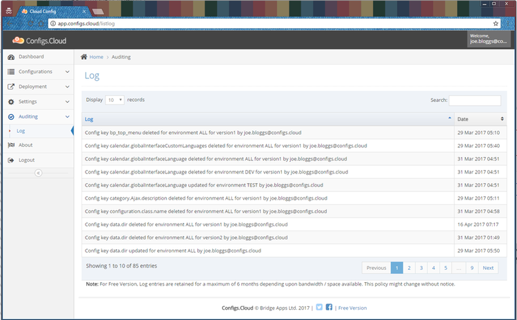 ConfigsCloud Screenshot 6