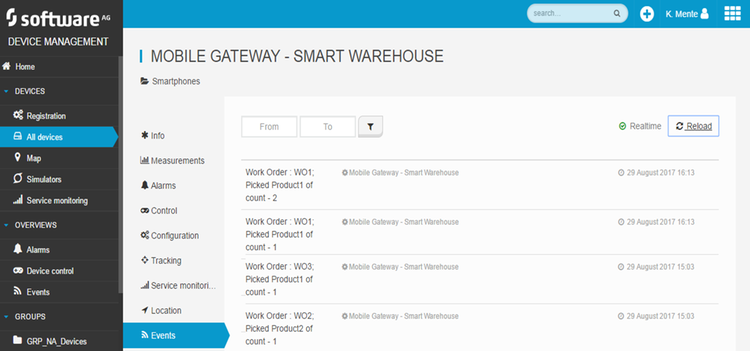 Smart Warehouse Screenshot 2