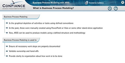 e-learning Feature ARIS Architect and Designer