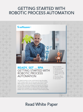 Robotic Process Automation White Paper
